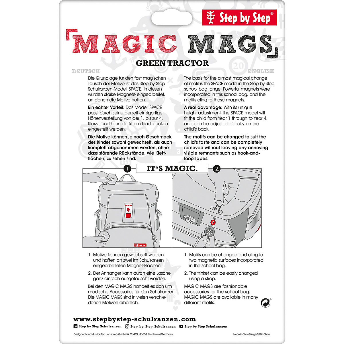 Step By Step, Magic Mags Happy Dolphins,