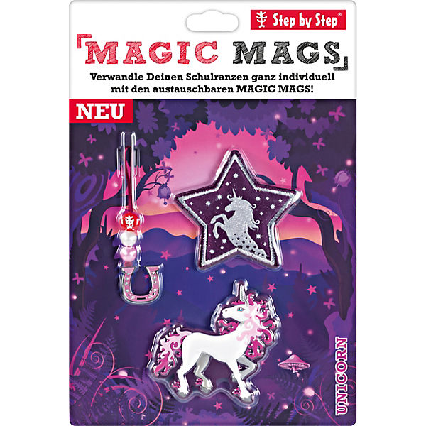 Step by Step 139005 MAGIC MAGS Unicorn, 3-tlg.