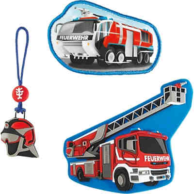 Step by Step 139257 MAGIC MAGS Fire Engine, 3-tlg.