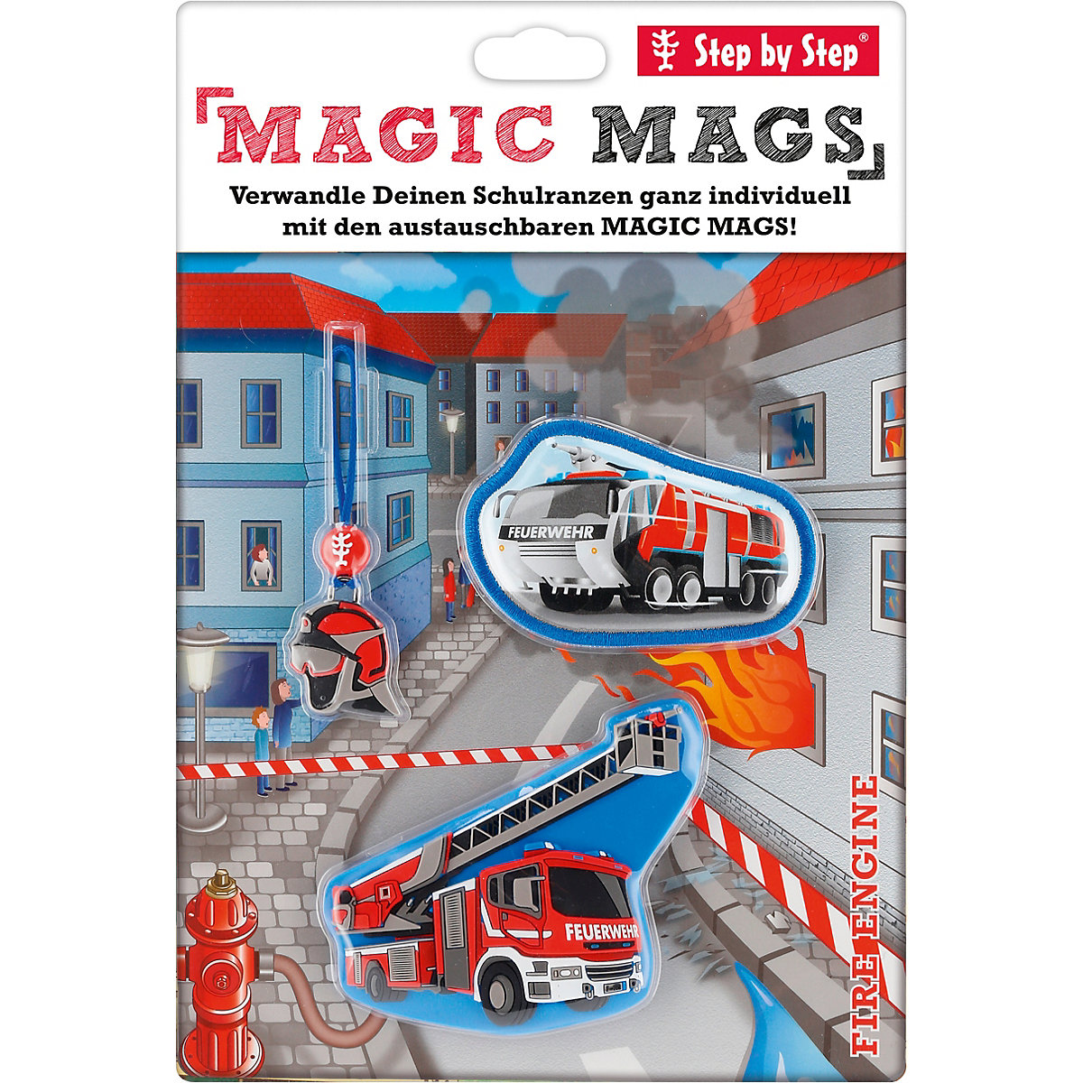 Step By Step, Magic Mags Fire Engine,