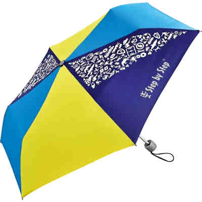 Taschenschirm Blue & Yellow, Magic Rain EFFECT