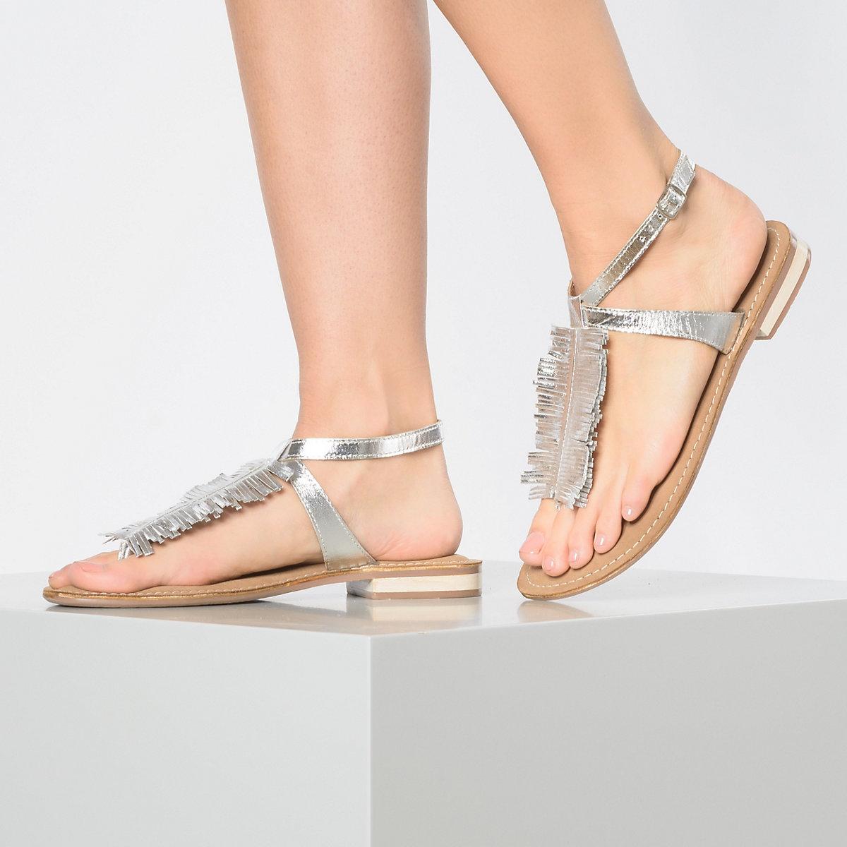 Spm, Dorian T-steg-sandalen, Silber