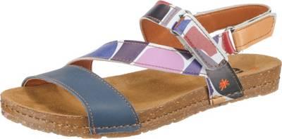 *art, Klassische Sandalen, mehrfarbig