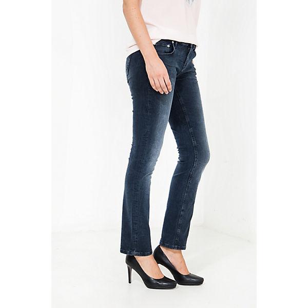 Dunkelblau Att Jeans Individueller Stella Mit Jeanshosen Waschung Straight Cut PXnk80wO