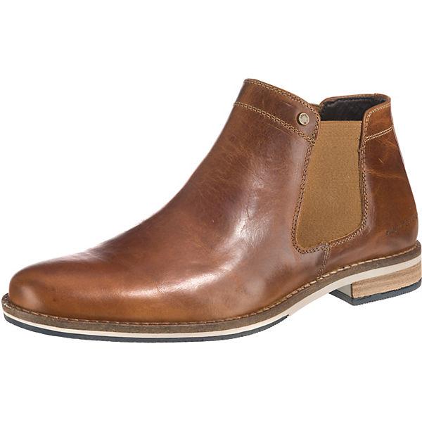 100% Zufriedenheitsgarantie Gutscheincode guter Service Paul Vesterbro, Leder Chelsea Boots, cognac