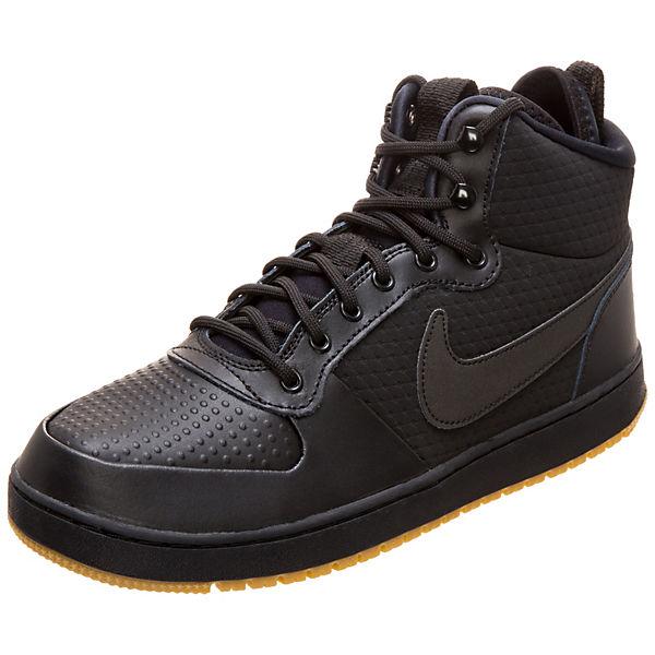 8798e6068ba0 Nike Sportswear, Ebernon Mid Winter Sneaker Herren, schwarz   mirapodo