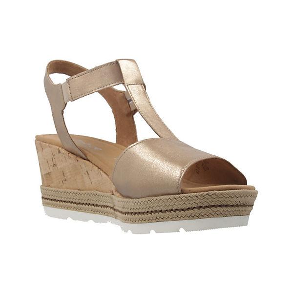 Gabor, Sandaletten, gold gold Sandaletten,  Gute Qualität beliebte Schuhe 5319d4