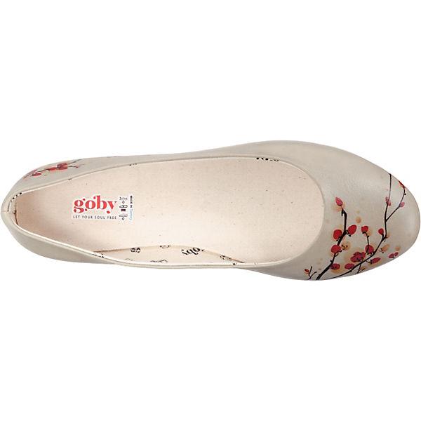 Goby Goby Klassische Ballerinas Ballerinas Mehrfarbig Klassische vm0ONw8n