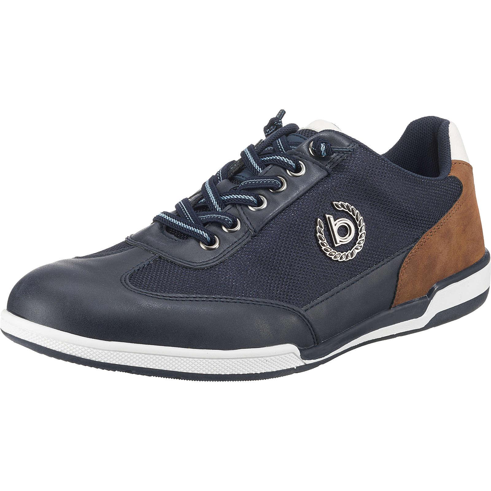 bugatti Solar Exko Sneakers Low dunkelblau Herren Gr. 48