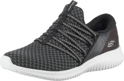 SKECHERS, ULTRA FLEX BRIGHT FUTURE Sneakers Low, schwarzgrau