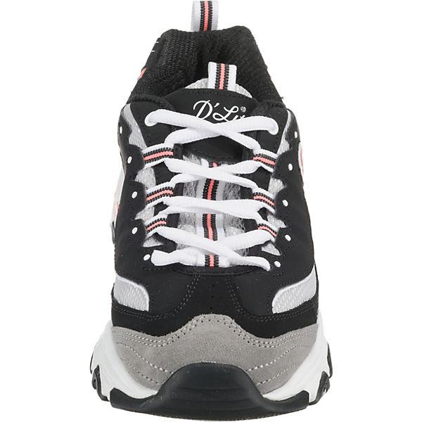 Schwarz Skechers weiß Low D'lites Journey Sneakers nbsp;new xxp6q0