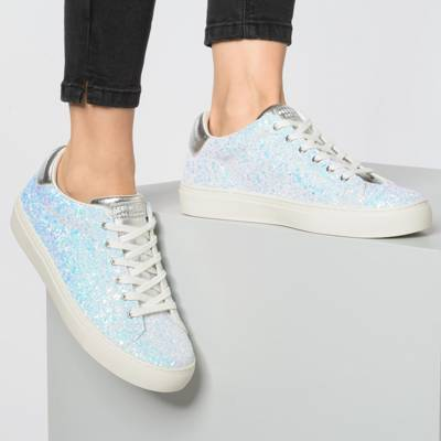 skechers side street awesome sauce white