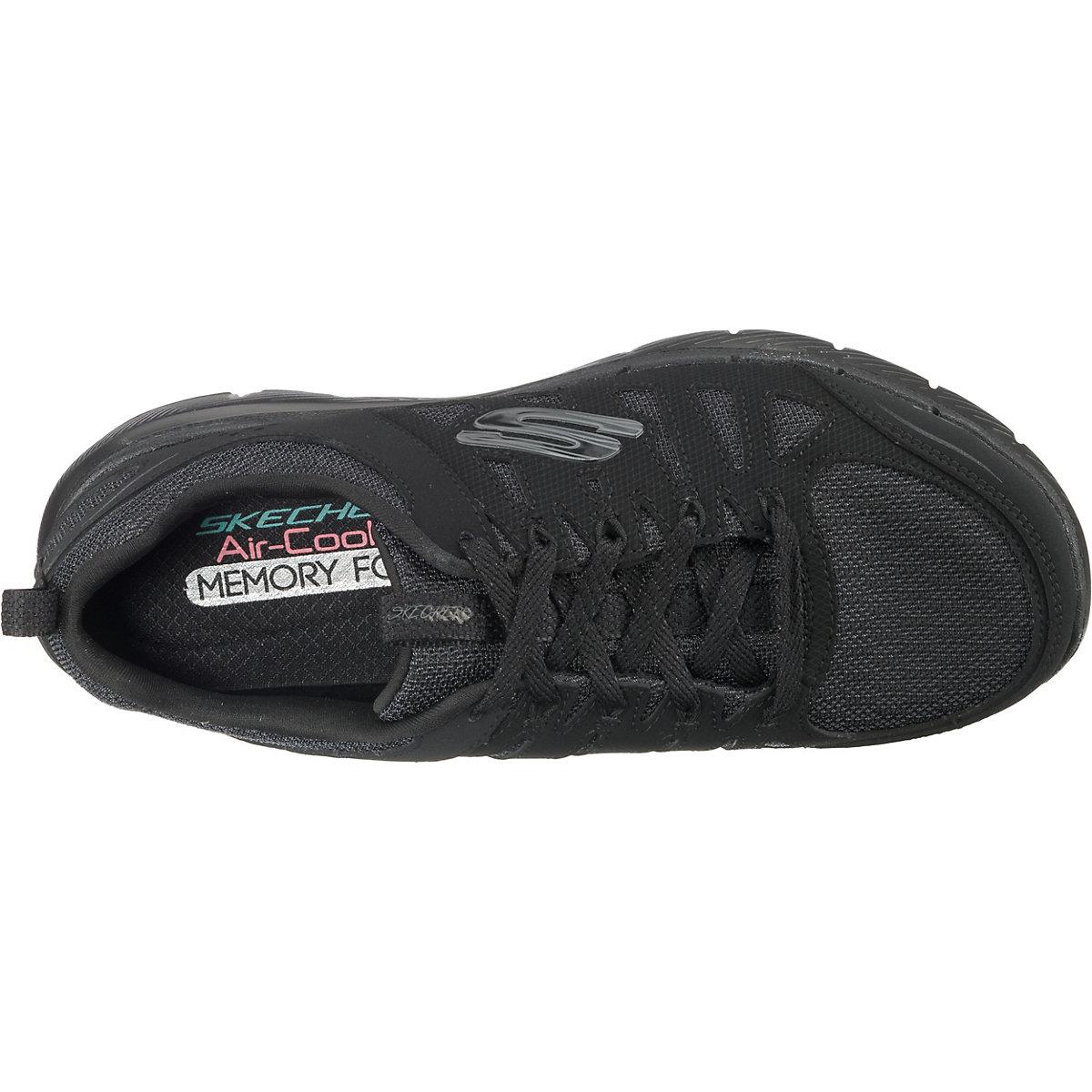 Skechers, Flex Appeal 3.0 Sneakers Low, Schwarz