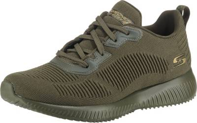 SKECHERS, BOBS SQUAD TOUGH TALK Sneakers Low, oliv