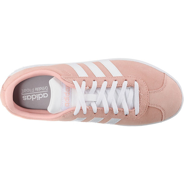 0 Koralle Sneakers Court Adidas Sport Low Inspired Vl 2 qc54S3jRAL