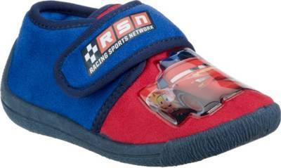 Cars Jungen Hausschuhe mit Klettverschluss Kinder Schuhe