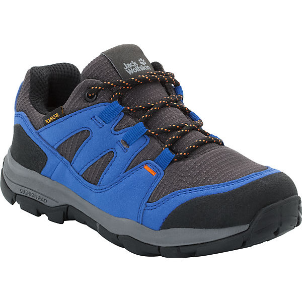 reputable site e836b 2074e Jack Wolfskin, Kinder Outdoorschuhe MTN ATTACK 3 TEXAPORE LOW, blau