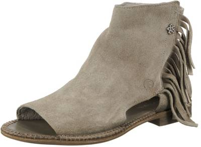 Clarks – Sandalen aus Leder mit Innensohle aus Kork – Cognac