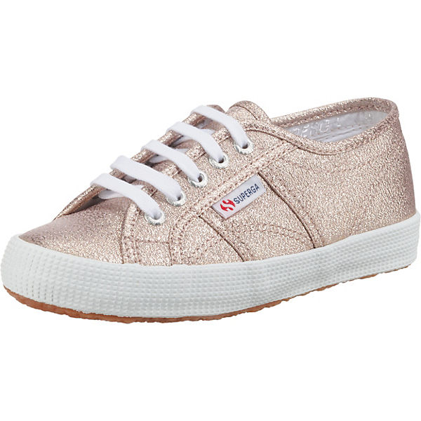 Gutes Angebot Superga® Sneakers Low LAMEBUMPJ für Mädchen rosegold