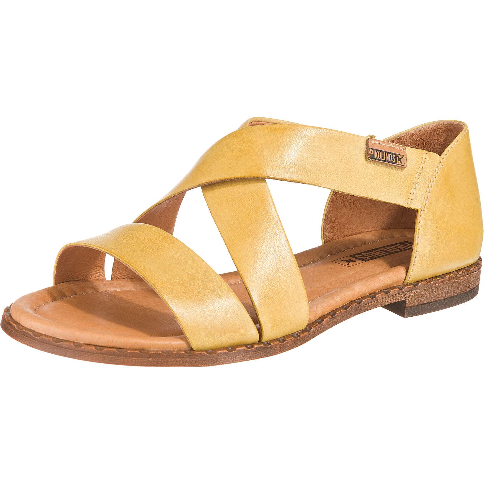 Pikolinos ALGAR Komfort-Sandalen gelb Damen Gr. 37