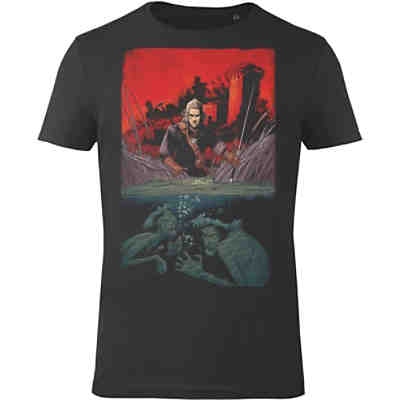 The Witcher T-Shirt schwarz