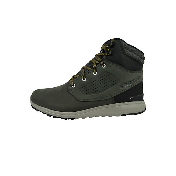 Winter Schuhe Utility Winter CS WP 404798 Grau Beluga Black Green Sulphur Winterstiefel