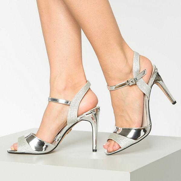 BUFFALO, Aida Klassische Sandaletten, silber  Gute Qualität beliebte Schuhe
