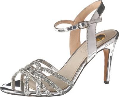 BUFFALO, Afterglow Klassische Sandaletten, silber