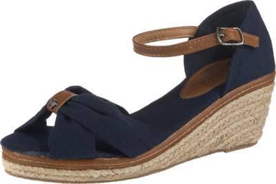 Tamaris Sandalette Keil Sandaletten|Riemchensandalen blau
