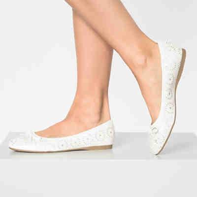 new style 4a8a7 fb91d Ballerinas in weiß günstig kaufen | mirapodo