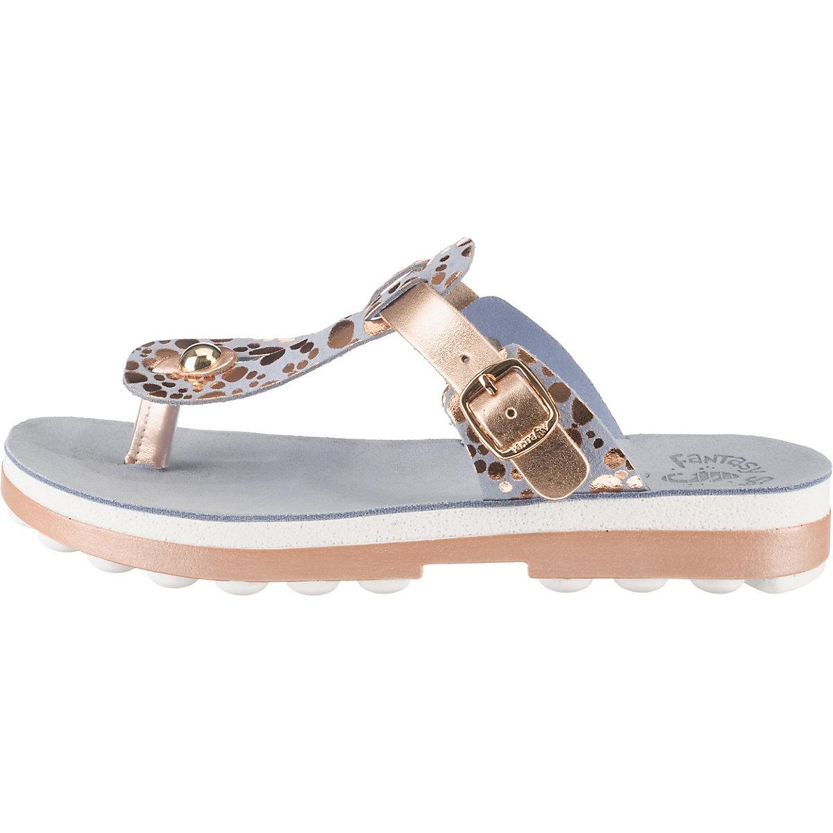 Fantasy Sandals Mirabella Komfort-Pantoletten hellblau