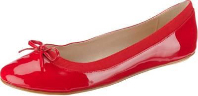 BUFFALO, Annelie Klassische Ballerinas, rot