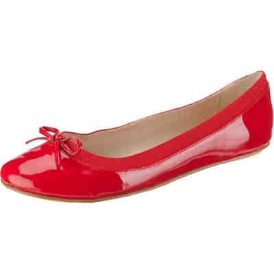 huge selection of 9335d 10ced BUFFALO, Annelie Klassische Ballerinas, rot