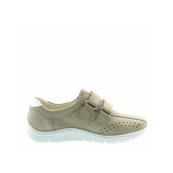 WALDLÄUFER, Slipper, Slipper, Slipper, beige  Gute Qualität beliebte Schuhe 0bd446