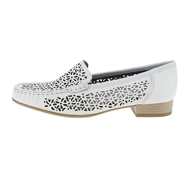 Ara, Slipper weiß, weiß Gute  Gute weiß Qualität beliebte Schuhe 66f0c4