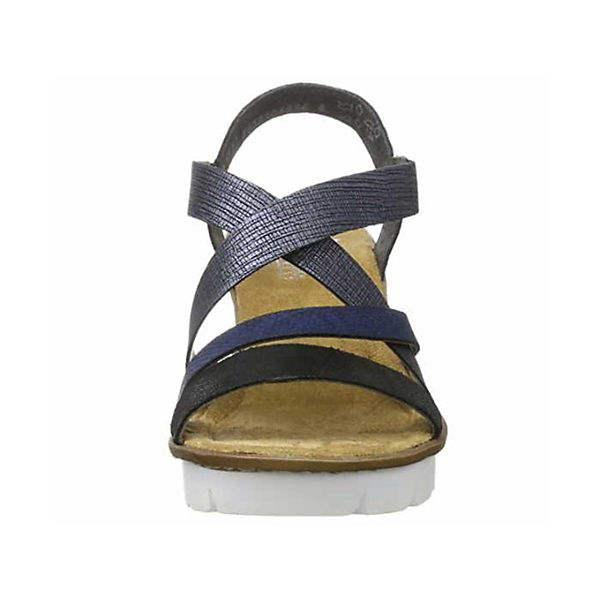 Rieker, Sandalen/Sandaletten Sandalen/Sandaletten Sandalen/Sandaletten blau, blau  Gute Qualität beliebte Schuhe 8e2aa1