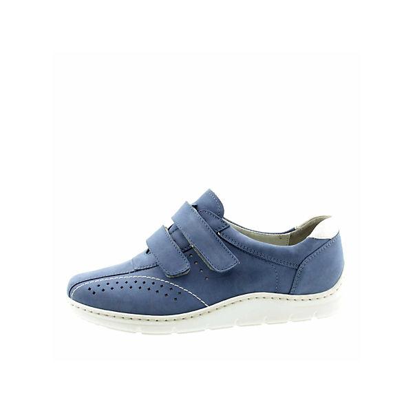 WALDLÄUFER, WALDLÄUFER, WALDLÄUFER, Slipper, blau  Gute Qualität beliebte Schuhe 410ab0