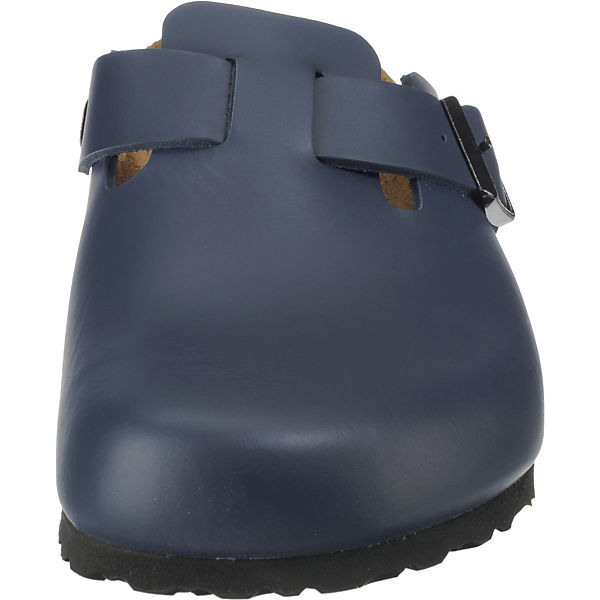 Boston Smooth Leather Leder Clogs normal