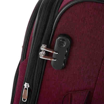 Reisetrolley Rainbow T1 67cm bordeaux 2 tone cognac