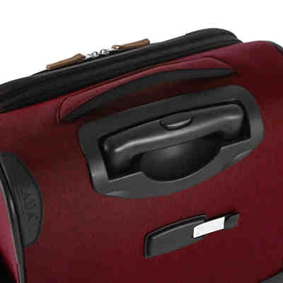 Reisetrolley Rainbow T1/55cm bordeaux 2 tone cognac