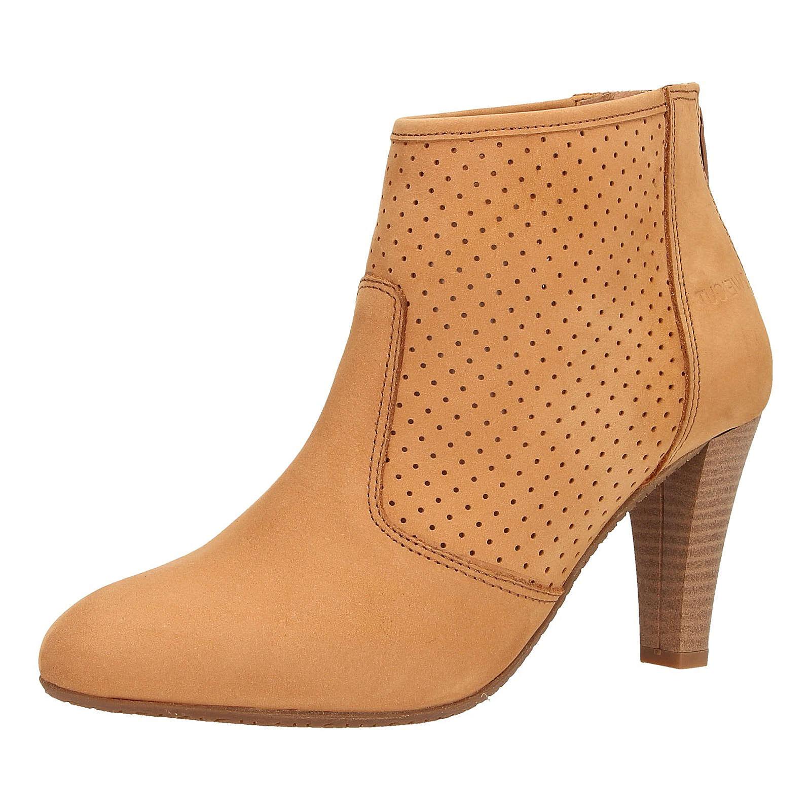 ZWEIGUT® Stiefeletten komood #310 Damen Nubukleder Sommer Schuh extremer Komfort auf flexibler Sohle atmungsaktiv hellbraun Damen Gr. 39