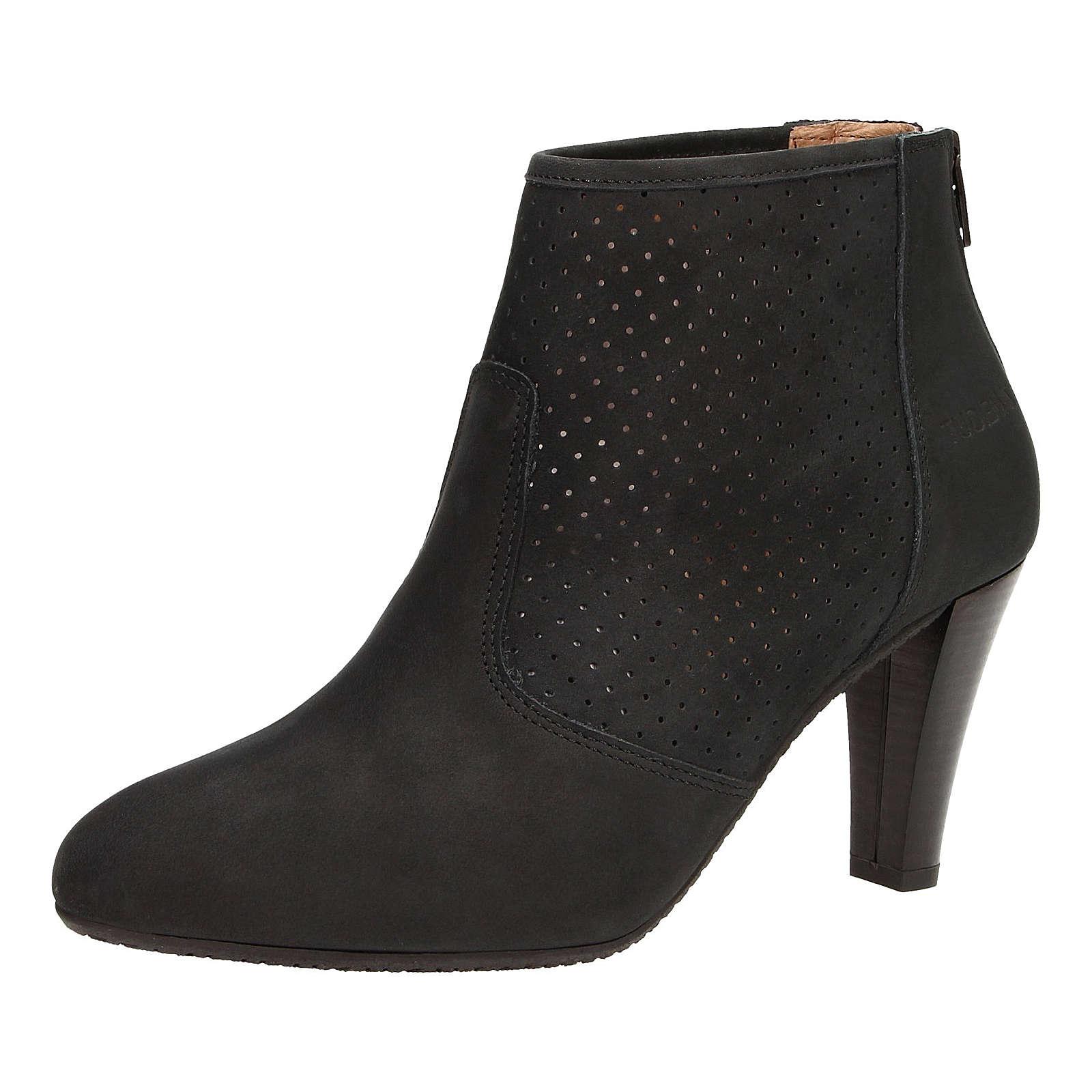 ZWEIGUT® Stiefeletten komood #310 Damen Nubukleder Sommer Schuh extremer Komfort auf flexibler Sohle atmungsaktiv schwarz Damen Gr. 39