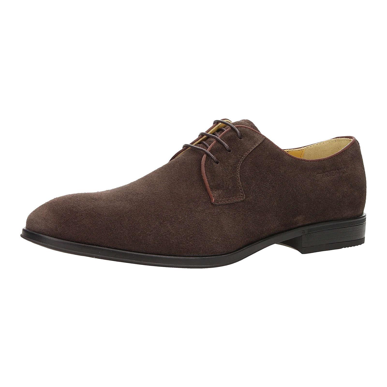 ZWEIGUT® Business Komfort-König smuck #271 Herren Wildleder Business Schuhe Ultraflexibel und leicht dunkelbraun Herren Gr. 47