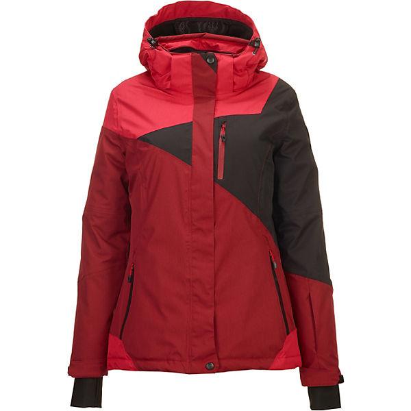 cheaper da278 34d8e killtec, Skijacken Kirty - Funktionsjacke mit abzippbarer Kapuze und  Schneefang, dunkelrot