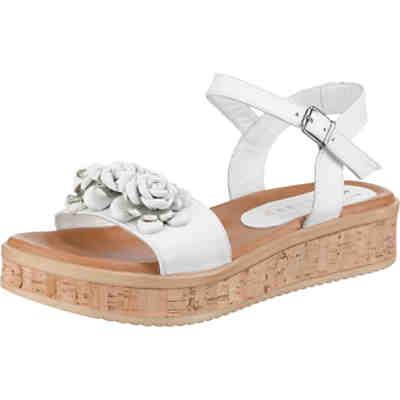 Weiße Sandaletten günstig online kaufen   mirapodo d146935a6b