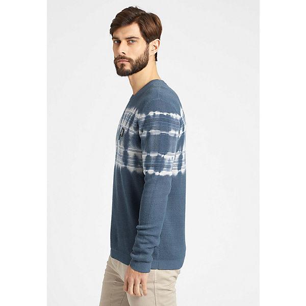 Khujo Pullover Pullover Blau Khujo Pound DE9YH2WI
