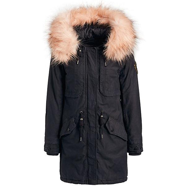Mantel Padded Khujo Wintermäntel Solid Grau Umara2 eHIb92EYWD