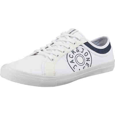 JFWROSS CANVAS PRINT BRIGHT WHITE Sneakers Low