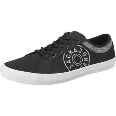JFWROSS CANVAS PRINT ANTHRACITE Sneakers Low
