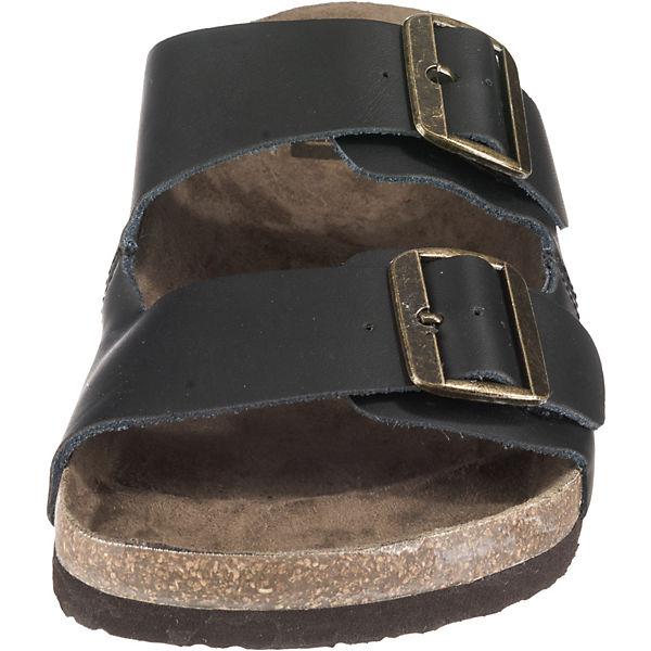 Jackamp; Schwarz Pantoletten Jfwcroxton Leather Jones Black m80nOyvwPN